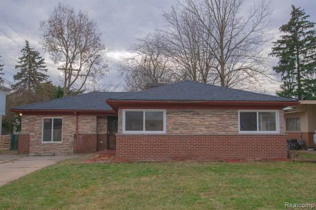 22971 Leewin Street, Detroit, MI 48219 (#219121356) :: The Alex Nugent Team | Real Estate One