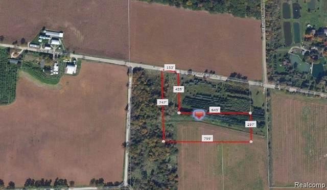 BC 3 Island Lake Road, Dexter, MI 48130 (#219121404) :: GK Real Estate Team