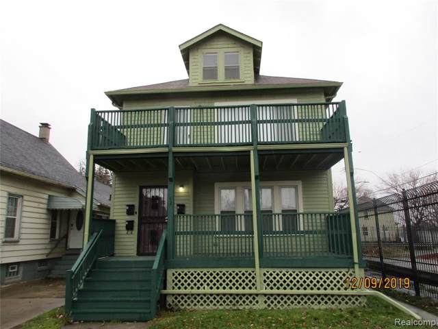 42 Oak Street, River Rouge, MI 48218 (#219121457) :: Duneske Real Estate Advisors