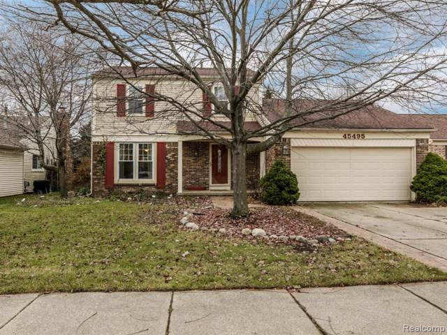 45495 Ronnen Drive, Macomb Twp, MI 48044 (#219121481) :: The Mulvihill Group