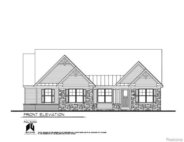 LOT 12 Woodchuck Lane, Lyon Twp, MI 48165 (#219121502) :: The Buckley Jolley Real Estate Team