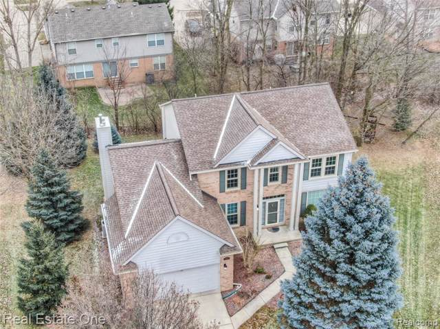 2703 Oak View Court, Rochester Hills, MI 48307 (#219121876) :: Alan Brown Group