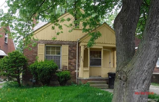 8122 Cloverlawn Street, Detroit, MI 48204 (#219122026) :: The Alex Nugent Team | Real Estate One