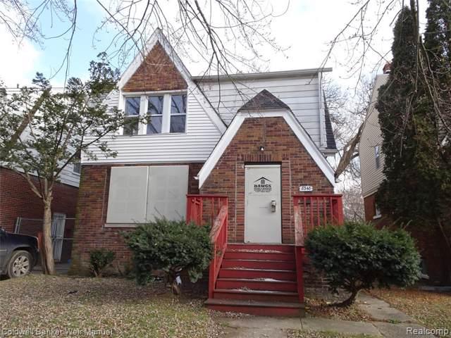 8348 Wisconsin Street, Detroit, MI 48204 (#219122119) :: The Alex Nugent Team | Real Estate One