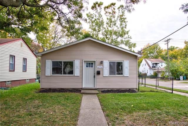171 W Madge Avenue, Hazel Park, MI 48030 (#219122125) :: RE/MAX Nexus