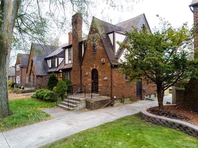 16203 Rosemont Avenue, Detroit, MI 48219 (#219122127) :: The Buckley Jolley Real Estate Team
