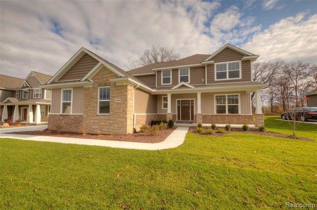 7922 Pamalane Ct (Homesite 1C), Green Oak Twp, MI 48116 (MLS #219122185) :: The Toth Team