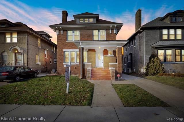2238 Atkinson Street, Detroit, MI 48206 (#219122257) :: The Buckley Jolley Real Estate Team
