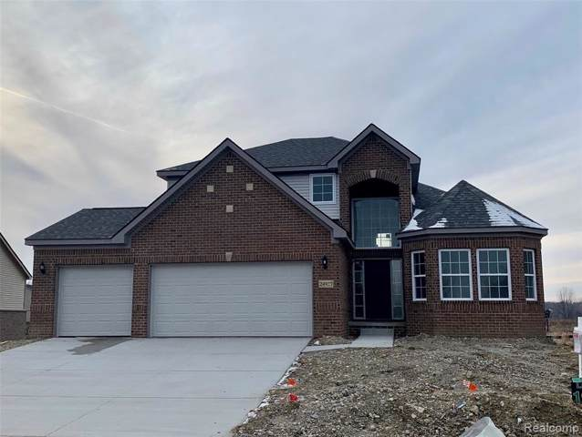 24927 Thurber Trail, Lyon Twp, MI 48178 (#219122272) :: The Buckley Jolley Real Estate Team
