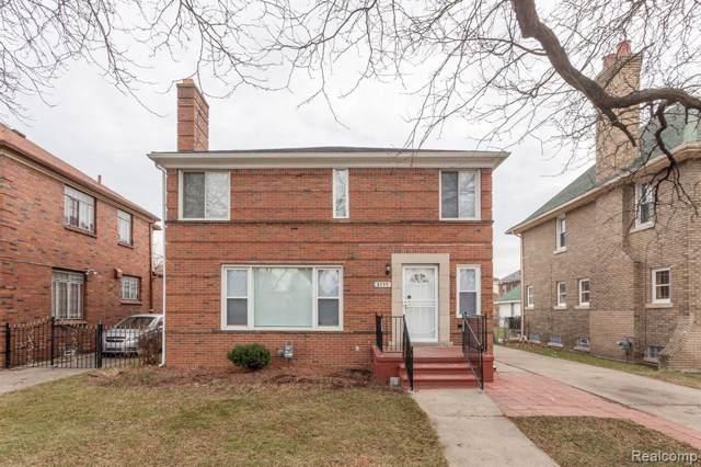 3111 Oakman Boulevard, Detroit, MI 48238 (#219122417) :: The Alex Nugent Team | Real Estate One