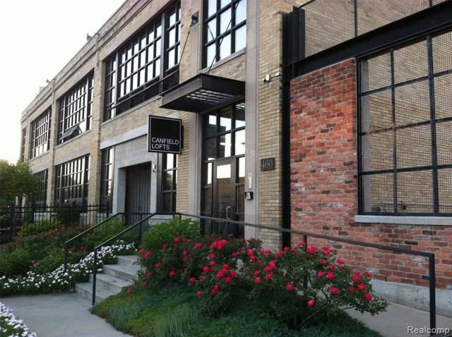 460 W Canfield Street, Detroit, MI 48201 (#219122441) :: The Buckley Jolley Real Estate Team