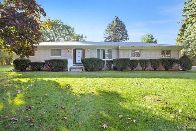 990 E Davis Road, Marion Twp, MI 48843 (#219122456) :: The Mulvihill Group