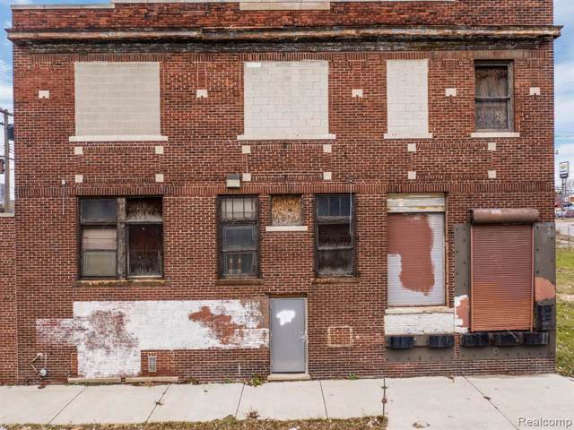 2013 Franklin Street, Detroit, MI 48207 (#219122531) :: Springview Realty