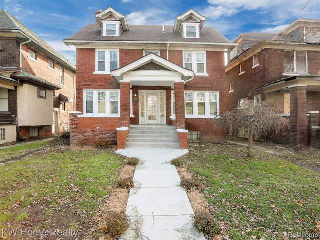 1121 Atkinson Street, Detroit, MI 48202 (#219122641) :: The Alex Nugent Team | Real Estate One