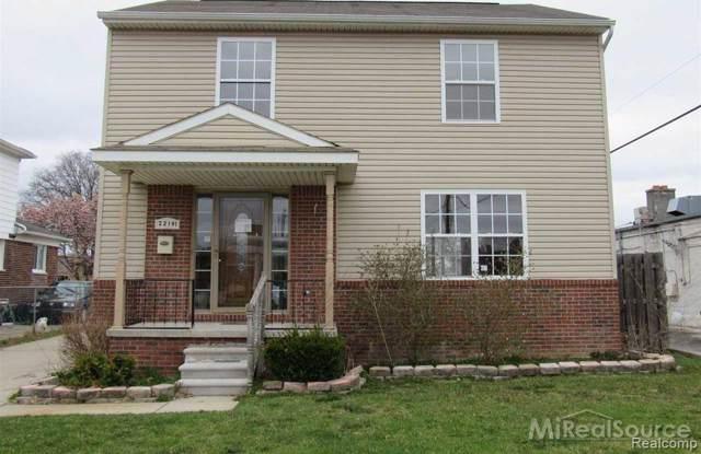 22191 W Ridgedale Street S, Oak Park, MI 48237 (#219122681) :: The Buckley Jolley Real Estate Team