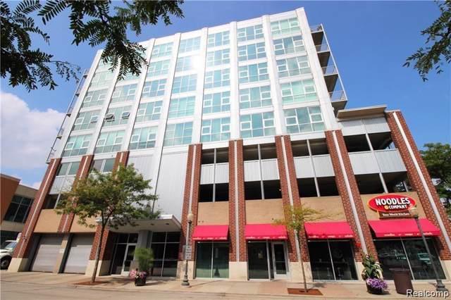 100 W Fifth Street #511, Royal Oak, MI 48067 (#219122751) :: The Buckley Jolley Real Estate Team