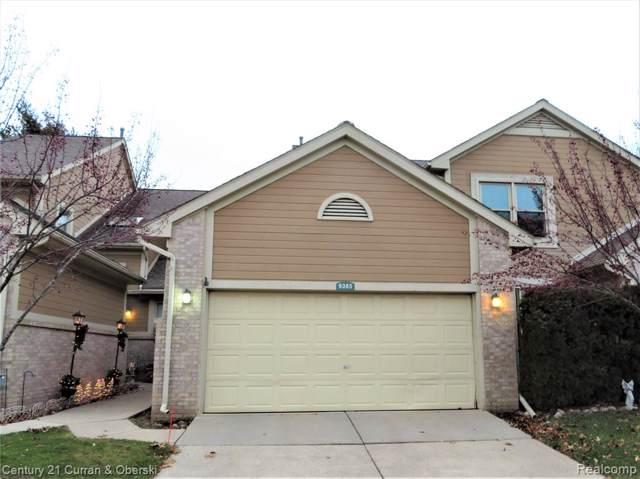 9385 Westwind Drive #53, Livonia, MI 48150 (#219123093) :: The Mulvihill Group