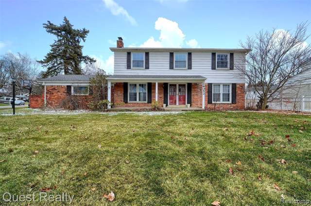 26052 Westmeath Street, Farmington Hills, MI 48334 (#219123330) :: The Buckley Jolley Real Estate Team