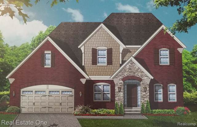 48345 Amber Lane Drive, Shelby Twp, MI 48315 (#219123463) :: The Buckley Jolley Real Estate Team