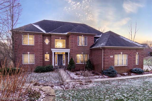 244 Fairway View Drive, Oxford Twp, MI 48371 (MLS #219125024) :: The Toth Team
