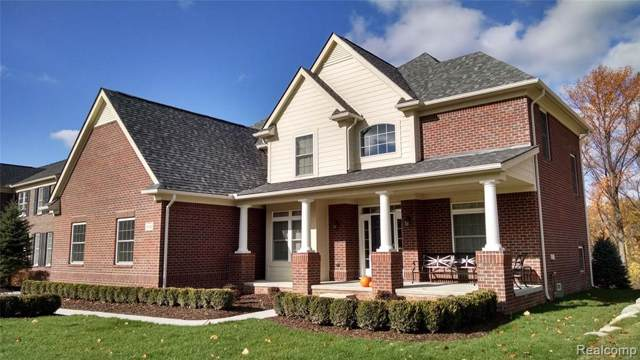 6750a Sunset Dr, Salem Twp, MI 48178 (#219125233) :: Springview Realty