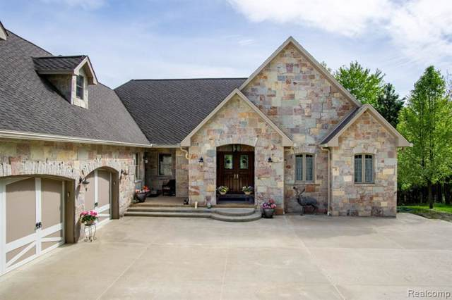 4792 Hough Road, Dryden Twp, MI 48428 (#2200000170) :: The Buckley Jolley Real Estate Team