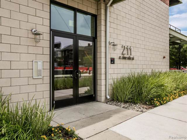 211 E 9 Mile Road #310, Ferndale, MI 48220 (#2200000408) :: Alan Brown Group