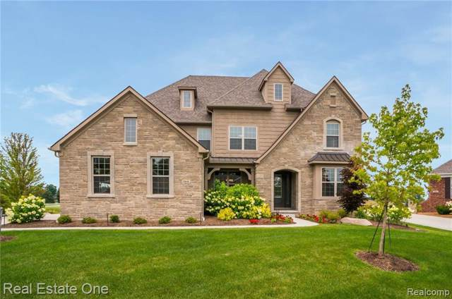 23639 N Crooked Tree Court, Lyon Twp, MI 48178 (#2200000513) :: The Buckley Jolley Real Estate Team