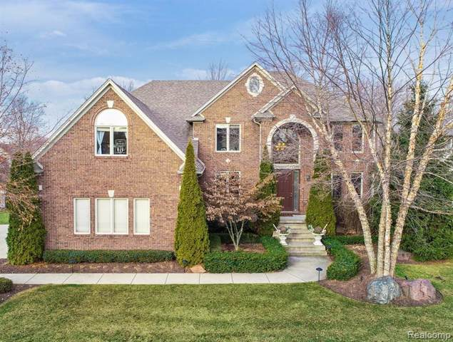13445 Maple Lawn Drive, Shelby Twp, MI 48315 (#2200001092) :: The Buckley Jolley Real Estate Team