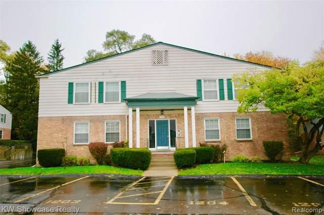 529 E University Drive #1203, Rochester, MI 48307 (#2200001222) :: Alan Brown Group