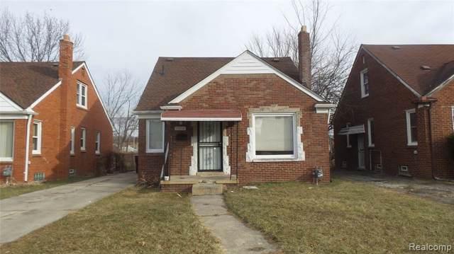 18256 Ashton Avenue, Detroit, MI 48219 (MLS #2200001273) :: The Toth Team