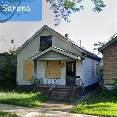 7522 Sarena St, Detroit, MI 48210 (#2200001465) :: The Mulvihill Group