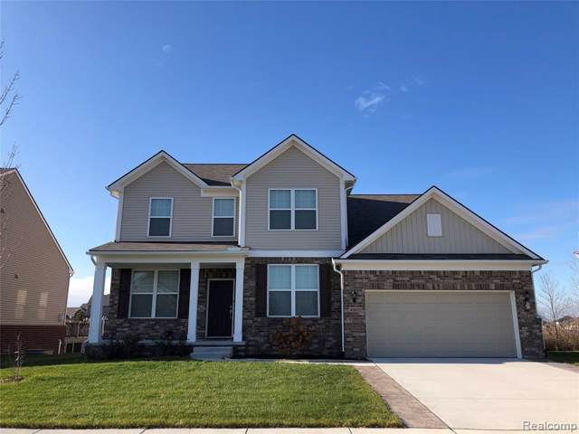 16579 Adelaide Drive, Macomb Twp, MI 48044 (#2200001479) :: The Mulvihill Group