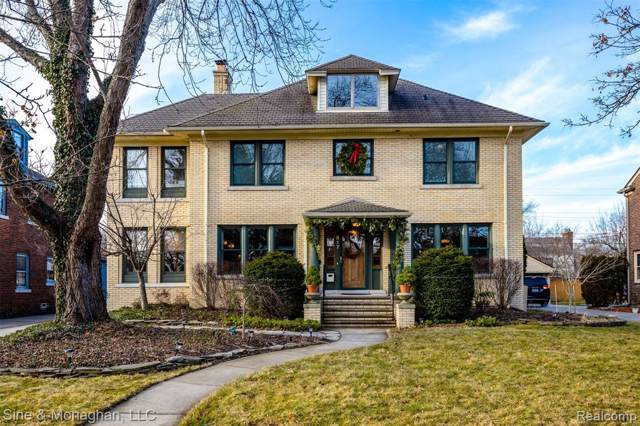 817 Lakepointe Street, Grosse Pointe Park, MI 48230 (#2200001990) :: The Alex Nugent Team   Real Estate One