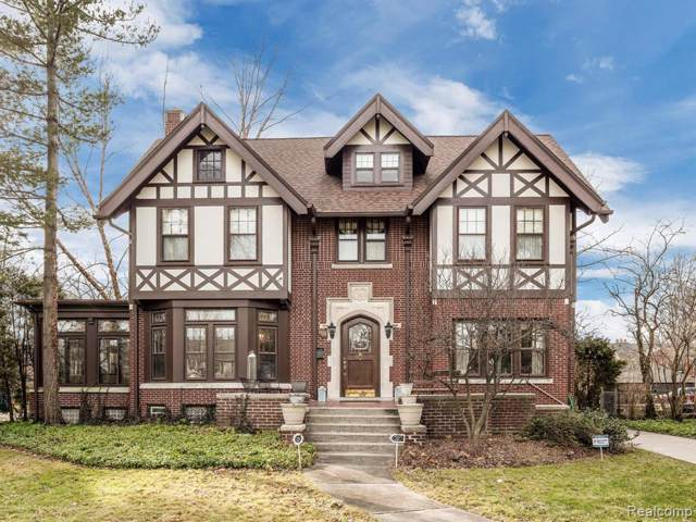 1125 Berkshire Road, Grosse Pointe Park, MI 48230 (#2200002169) :: The Alex Nugent Team   Real Estate One