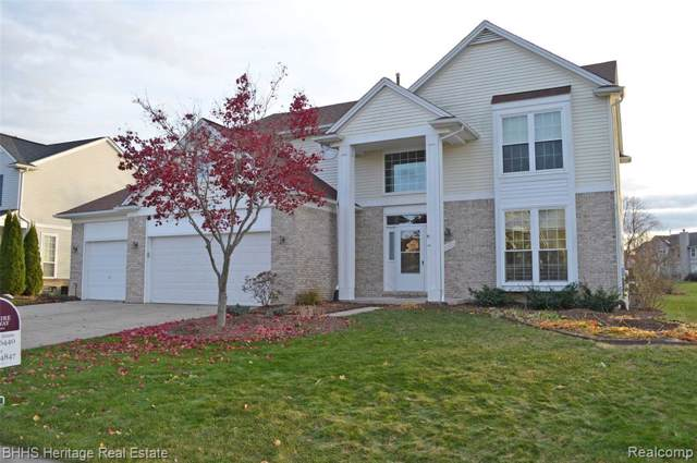 1053 Chestnut Lane, South Lyon, MI 48178 (#2200002190) :: Duneske Real Estate Advisors