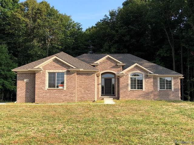 4380 Howland Road, Almont Twp, MI 48003 (MLS #2200002195) :: The Toth Team