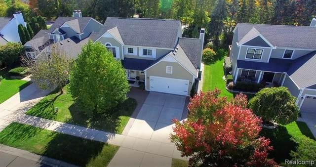 3816 Eaton Gate Lane, Auburn Hills, MI 48326 (#2200002331) :: Springview Realty