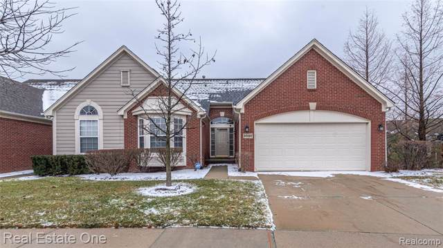 30197 Viewcrest Court, Novi, MI 48377 (#2200002770) :: Alan Brown Group