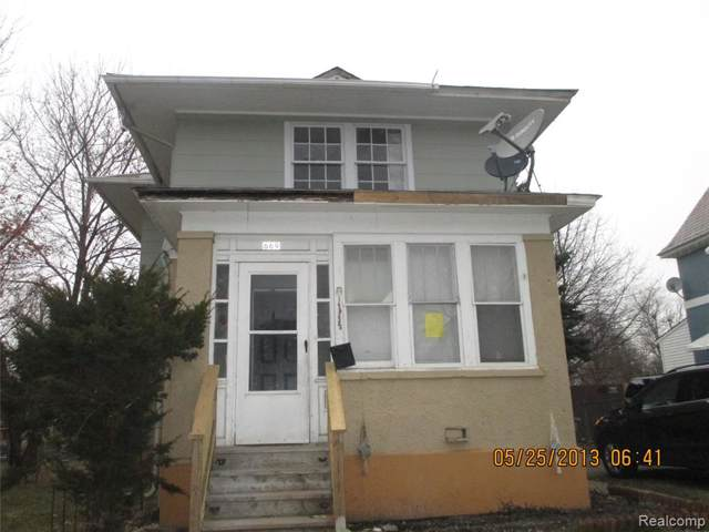 669 N Perry Street, Pontiac, MI 48342 (#2200002993) :: GK Real Estate Team