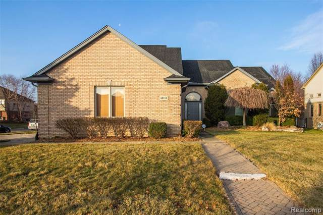 48113 Thistle Drive, Macomb Twp, MI 48044 (#2200003244) :: The Alex Nugent Team | Real Estate One