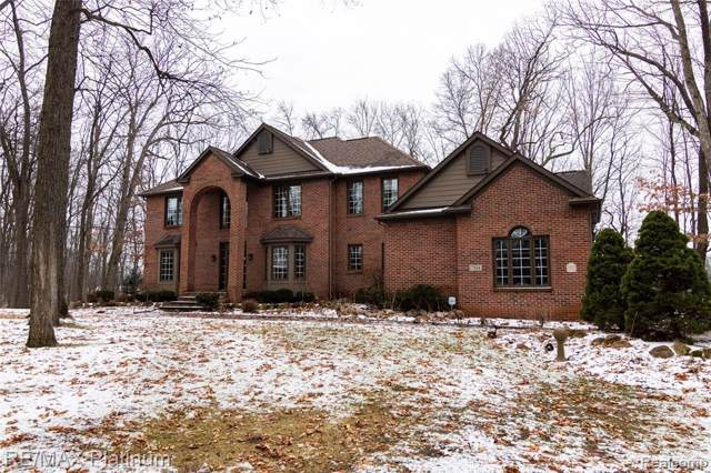 7514 East Lake Drive, Genoa Twp, MI 48114 (#2200003304) :: The Buckley Jolley Real Estate Team