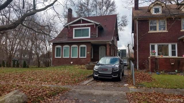 453 Lakewood St, Detroit, MI 48215 (#2200003318) :: Springview Realty