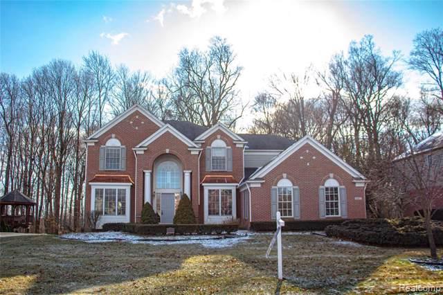 44677 Oak Forest Drive, Northville Twp, MI 48168 (#2200003357) :: Duneske Real Estate Advisors