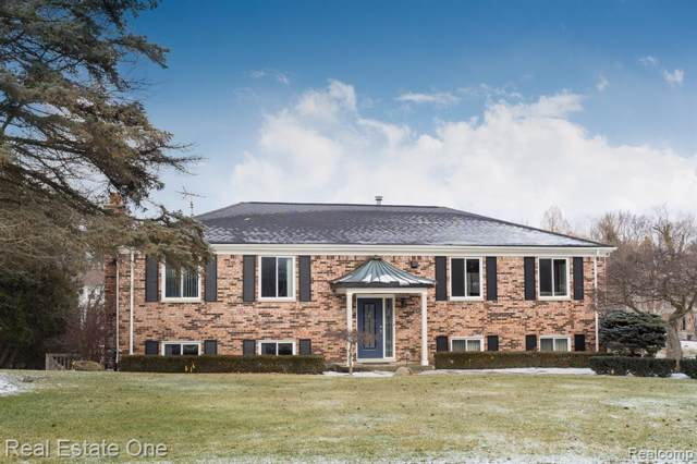 117 Coachlamp Road, Oakland Twp, MI 48306 (#2200003366) :: Team Sanford
