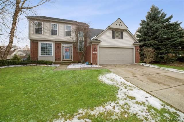 300 Franklin Wright Boulevard, Orion Twp, MI 48362 (#2200003395) :: Springview Realty