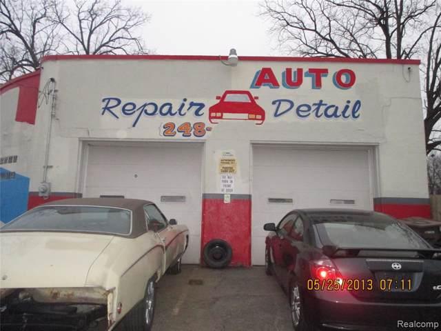 128 Baldwin Avenue, Pontiac, MI 48342 (#2200003449) :: GK Real Estate Team