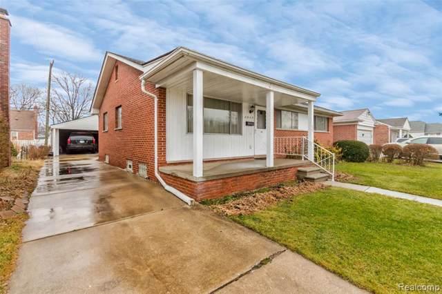 2045 Willow Street, Dearborn, MI 48124 (#2200003532) :: The Alex Nugent Team | Real Estate One