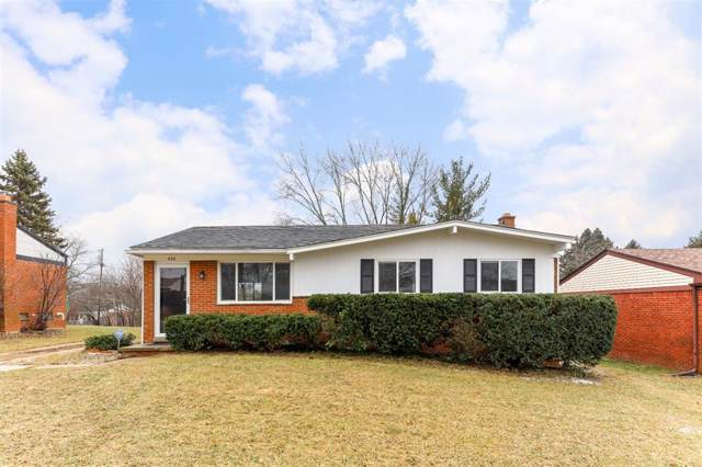 452 Skydale Drive, Ann Arbor, MI 48105 (#543270610) :: Alan Brown Group