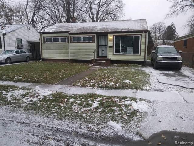 613 W Alma Avenue, Flint, MI 48505 (MLS #2200004117) :: The Toth Team